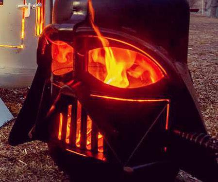 Darth Vader Fire Pit